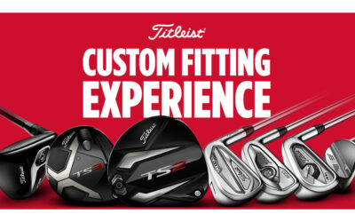 Titleist Custom Fitting Experience den 4/8